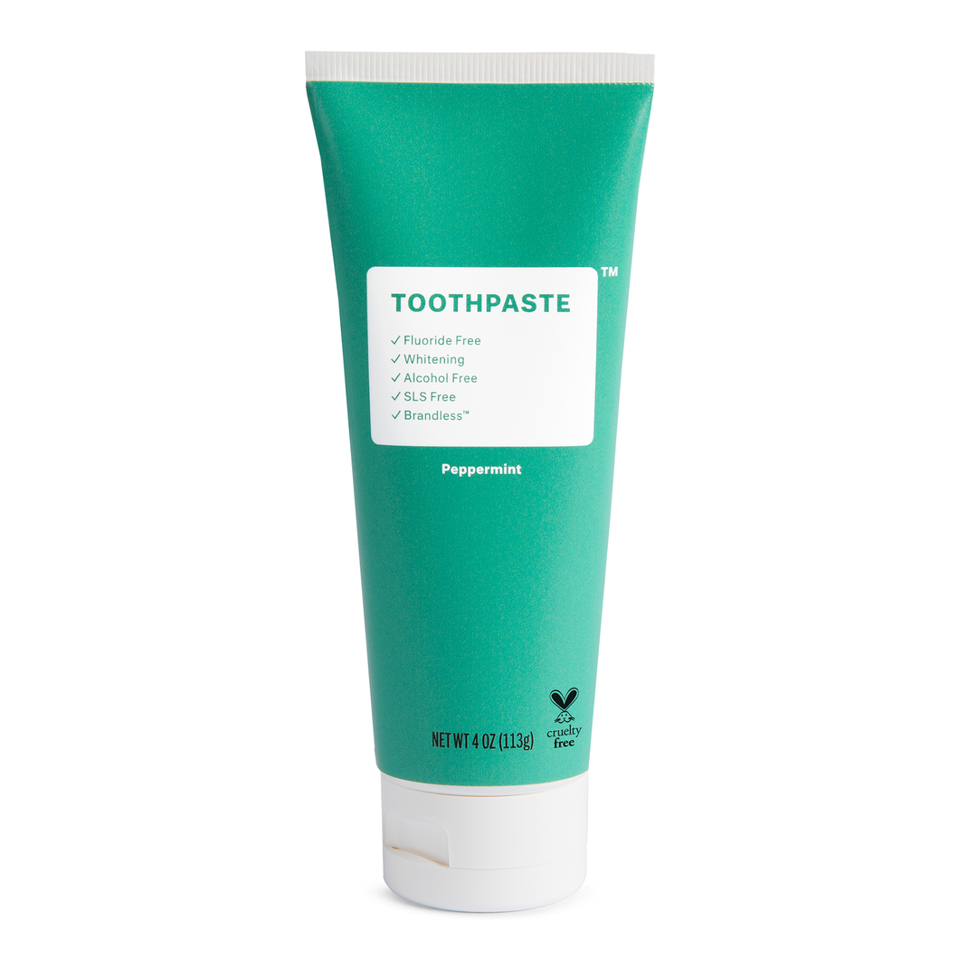 Fluoride Free Peppermint Toothpaste