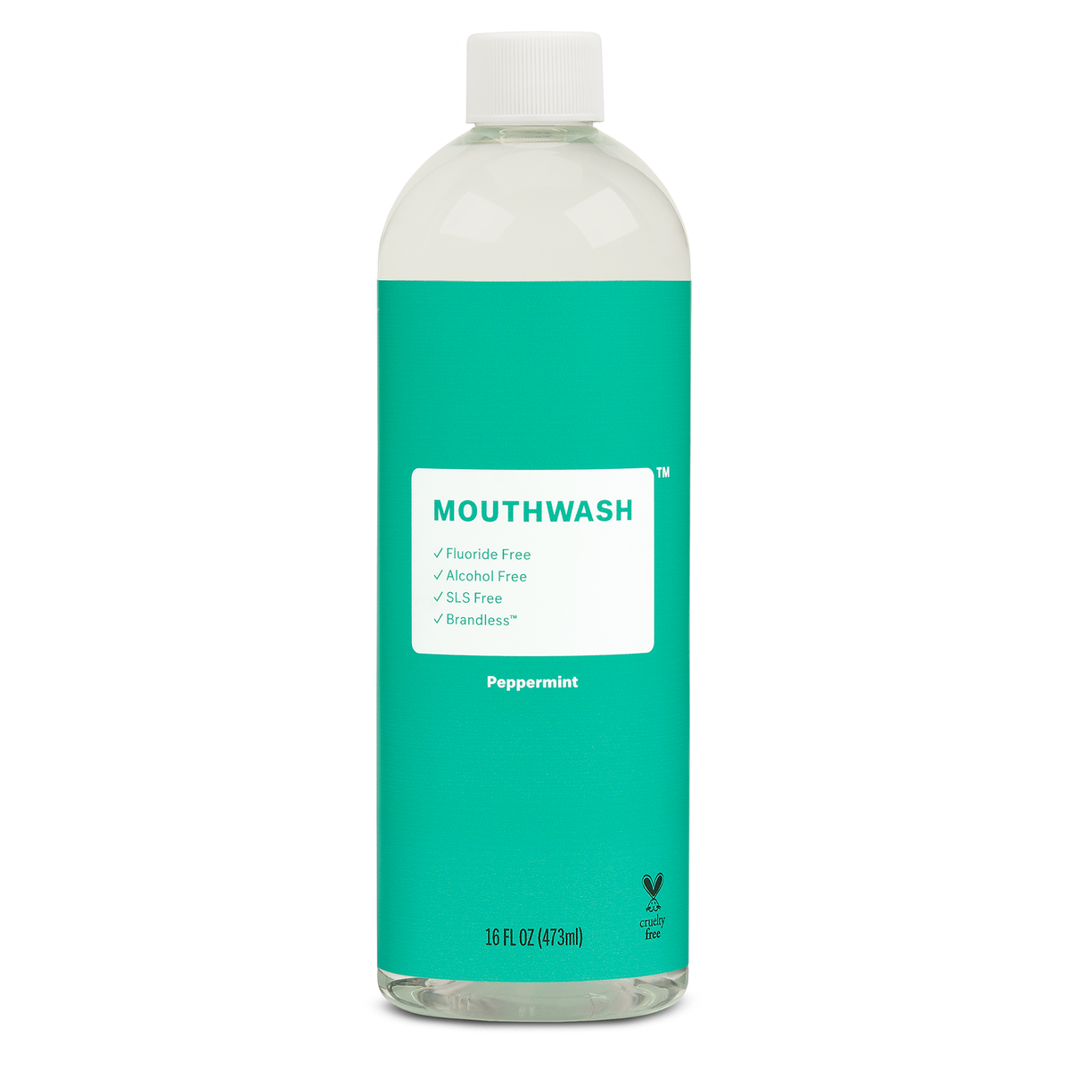 Alcohol & Fluoride Free Peppermint Mouthwash