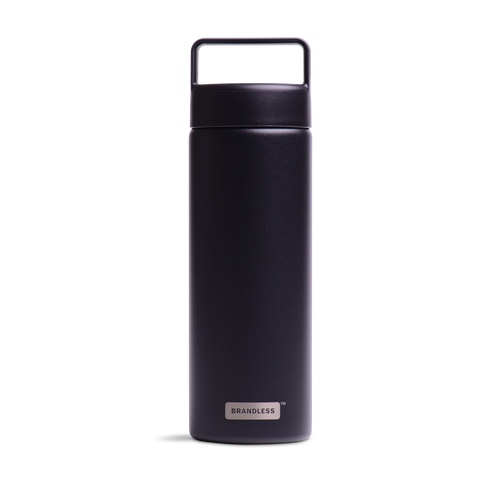 Stainless Steel Water Bottle - Black