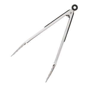 "12"" Stainless Steel Tongs"