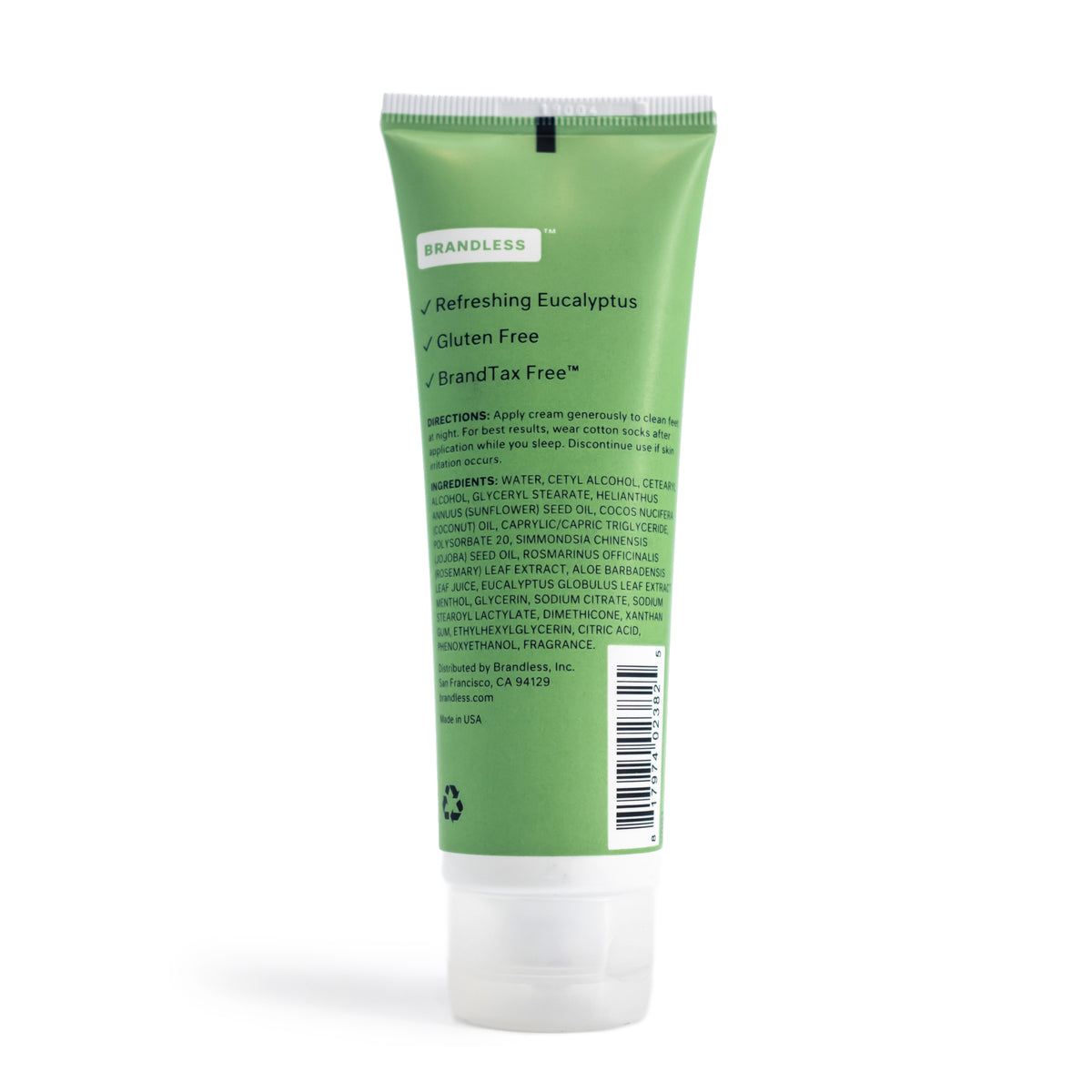 Mint Foot Cream