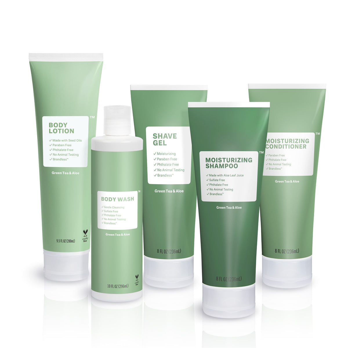Green Tea & Aloe Body Collection