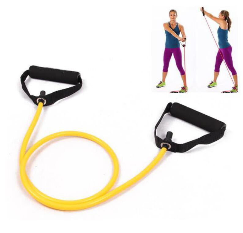 4ft Fitness Elastic Resistance Band -Yoga Pull Rope