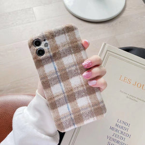 Plush Fabric  iPhone Case