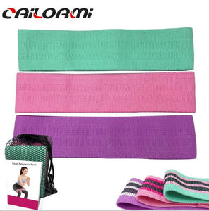 Fitness Resistance Bands 3-Piece Set Rubber Bands