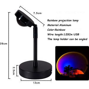 Sunglare Rainbow Projector Lamp