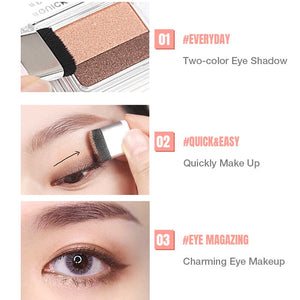 Double Color Gradient Eye Shadow