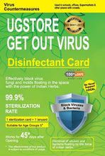 Load image into Gallery viewer, Virus Disinfection Card 45 days