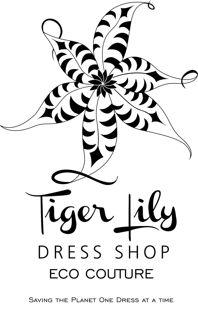 Logo for Tiger Lily Dress Shop Eco-Couture