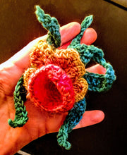 Load image into Gallery viewer, 3-D Crochet Applique Corsage Coat Online Lesson