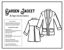 Load image into Gallery viewer, Custom Handmade Garden Jacket