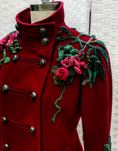 Into the Woods Corsage Coat