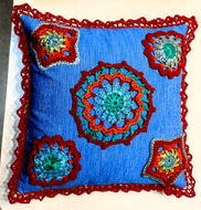 Boho Mandala Pillow 16