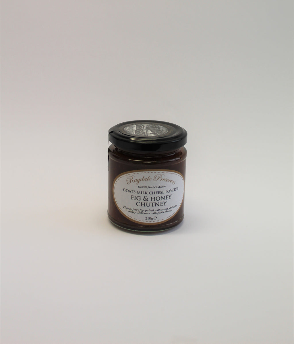 Goats milk cheese lover's fig & honey chutney
