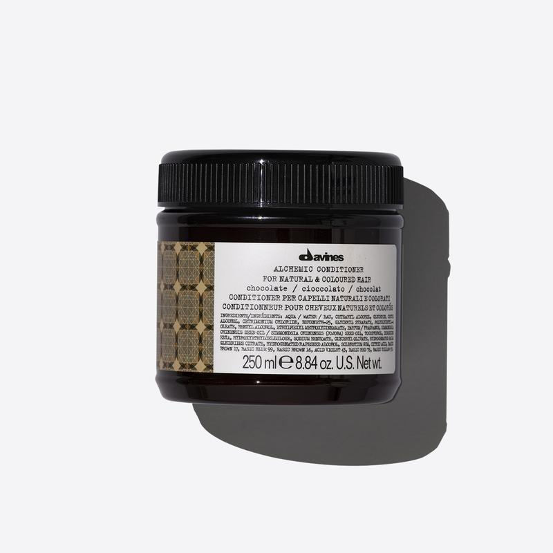 Davines Alchemic Chocolate Conditioner | 250ml available online at Little Hair Co