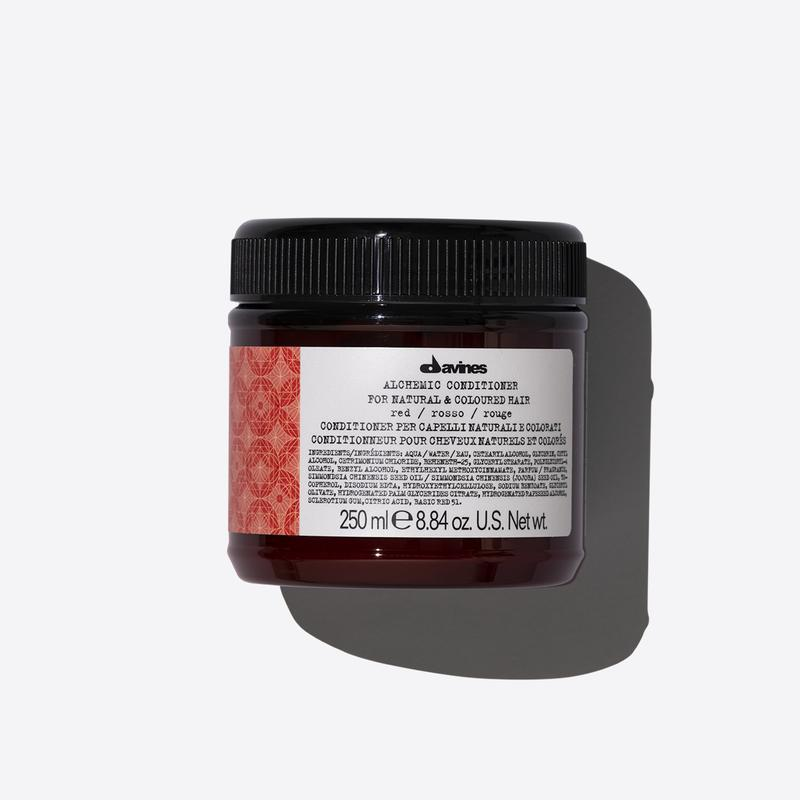 Davines Alchemic Red Conditioner | 250ml available online at Little Hair Co