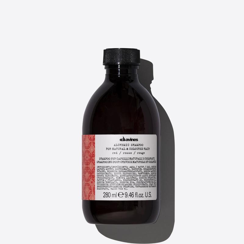 Davines Alchemic Red Shampoo | 280ml available online at Little Hair Co