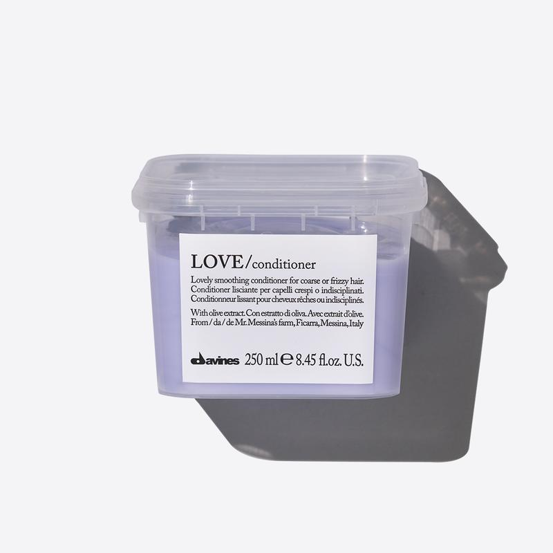 Davines Essentials Love Smooth Conditioner | 250ml available online at Little Hair Co