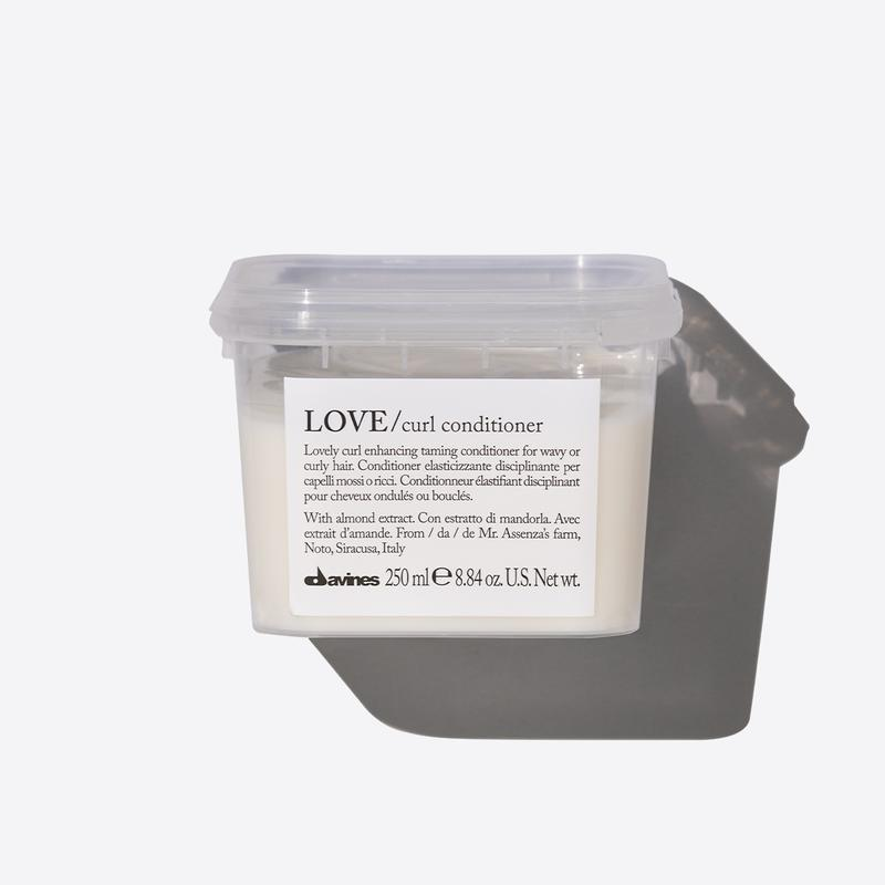 Davines Essentials Love Curl Conditioner | 250ml available online at Little Hair Co