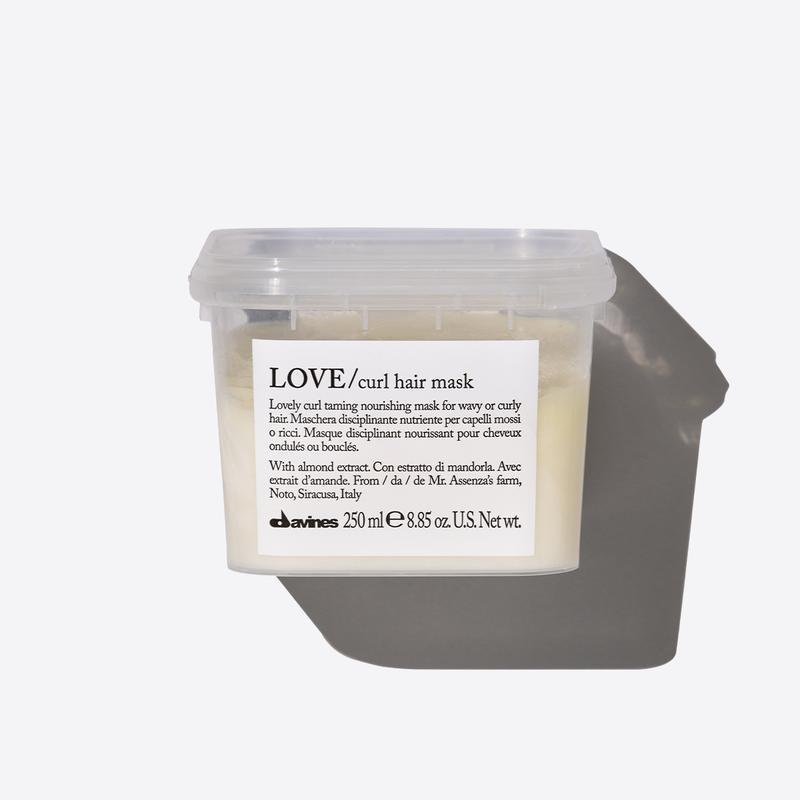 Davines Essentials Love Curl Mask | 250ml available online at Little Hair Co