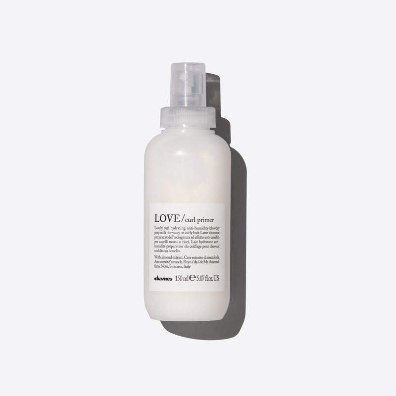 Davines Essentials Love Curl Primer | 150ml available online at Little Hair Co