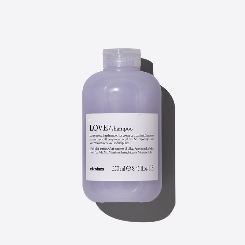 Davines Essentials Love Smooth Shampoo | 250ml available online at Little Hair Co
