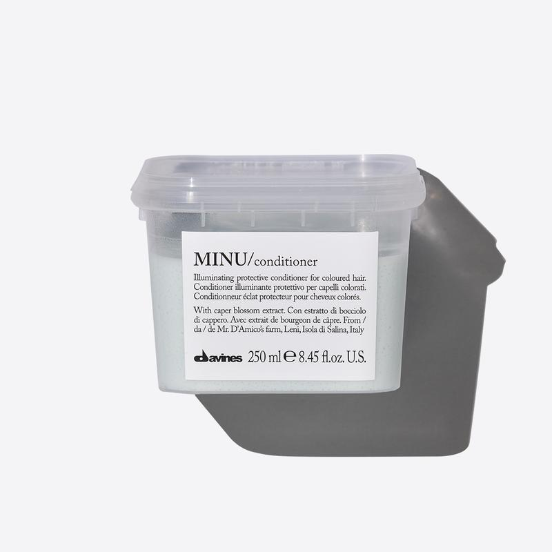 Davines Essentials Minu Conditioner | 250ml available online at Little Hair Co