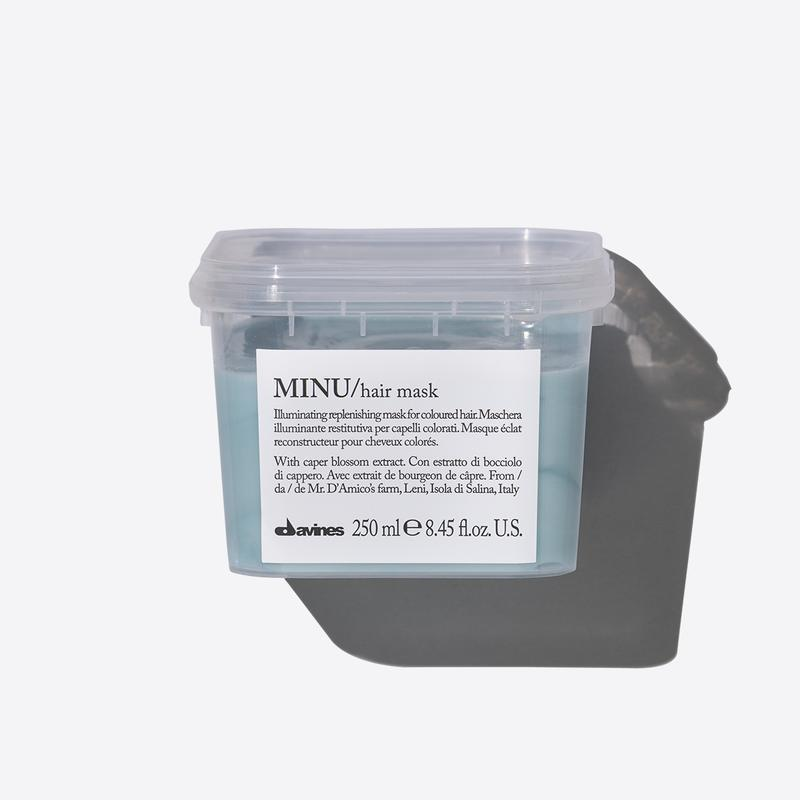 Davines Essentials Minu Mask | 250ml available online at Little Hair Co