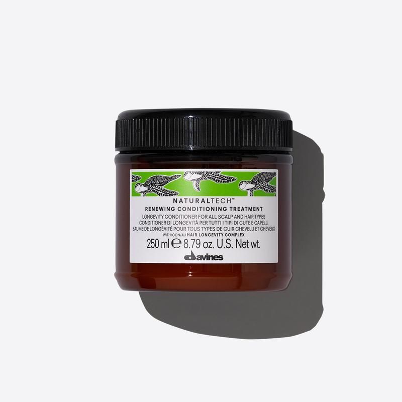 Davines Naturaltech Renewing Conditioning Treatment | 250ml available online at Little Hair Co