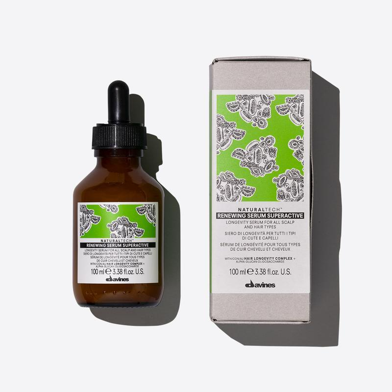 Davines Naturaltech Renewing Superactive | 100ml available online at Little Hair Co