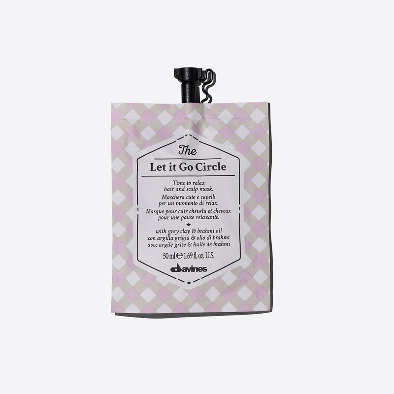 Davines Circle Chronicles The Let It Go Circle | 50ml available online at Little Hair Co