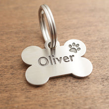 Load image into Gallery viewer, Dog id tag- Oliver