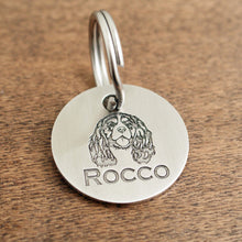 "Load image into Gallery viewer, Pet ID Tag ""Rocco"""