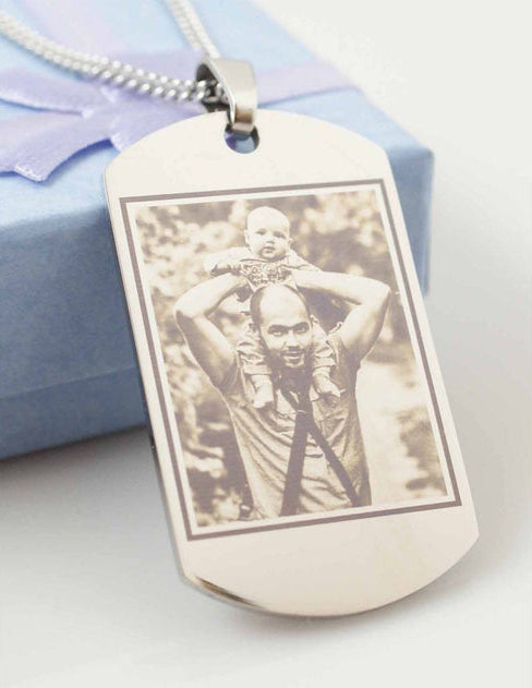 Fathers day necklace