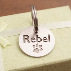 Dog id tag Apollo-09