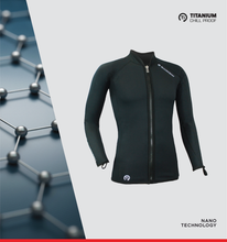 Load image into Gallery viewer, MENS TITANIUM CHILLPROOF LONG SLEEVE FULL ZIP