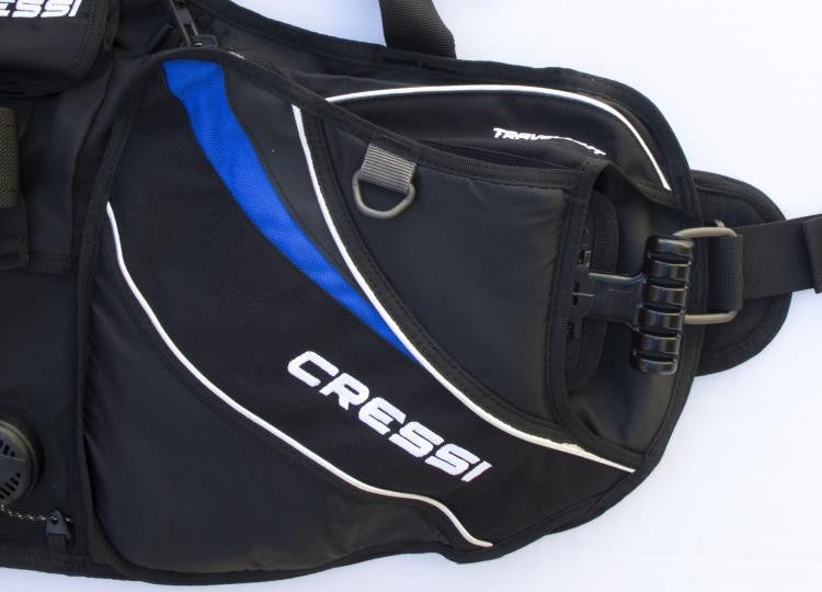Cressi Travelight Men's BCD Blue