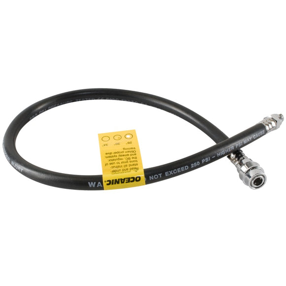 Low Pressure Quick Disconnect Hose - 26 Inch