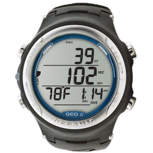 Oceanic GEO 2.0 wrist watch diving computer