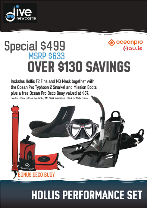 Hollis Divers Instructors choice package