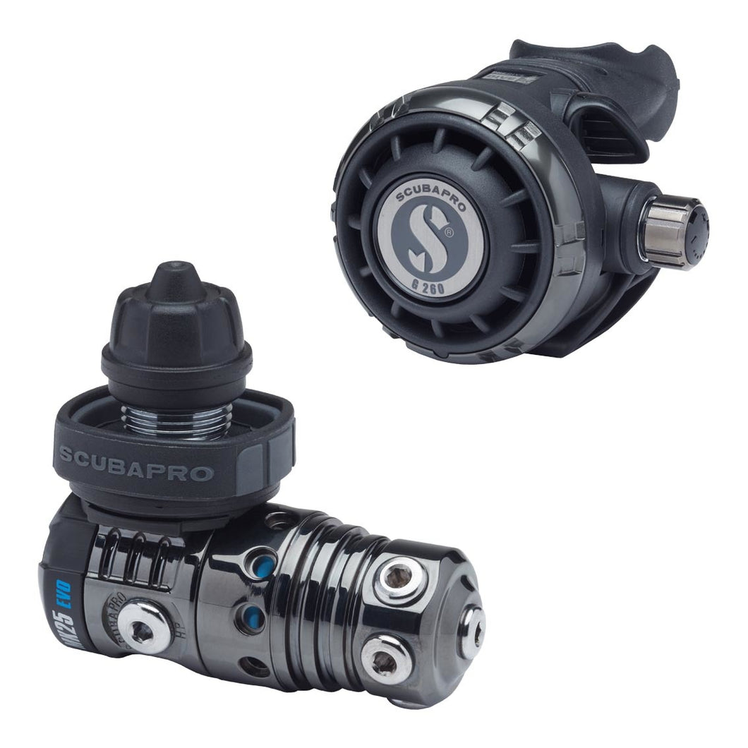 Scubapro MK25 EVO / G260 black tech Yoke