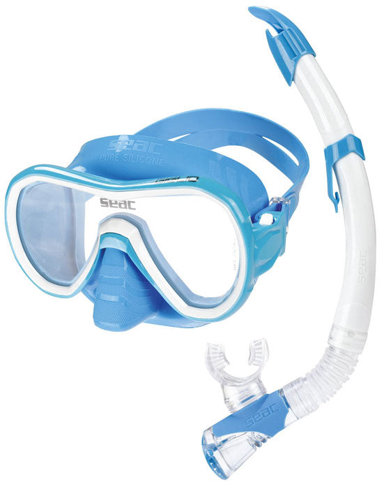 kids seac Giglio Bis mask and snorkel Set