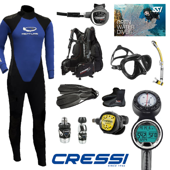 Mens Top to Toe Cressi Pack