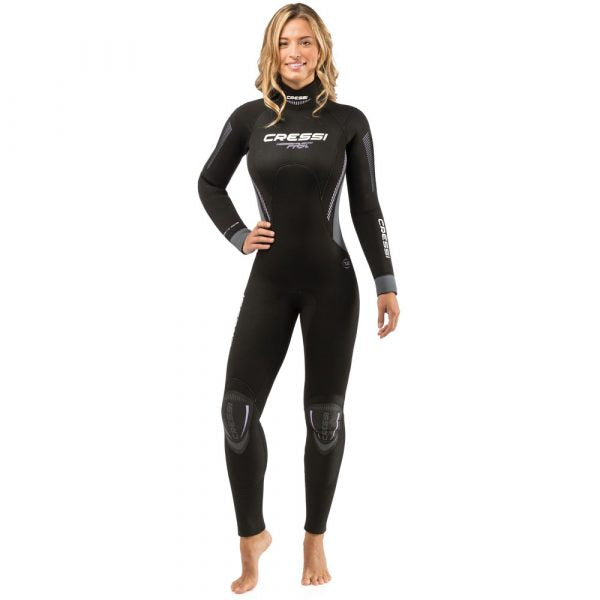 Cressi Fast All-In-One 5mm Wetsuit Womens