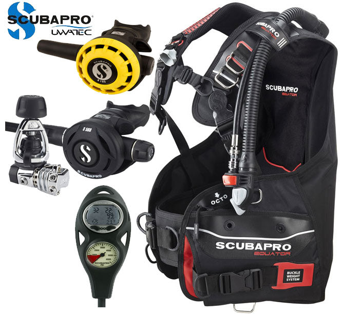 Scubapro Equator Dive Package Complete