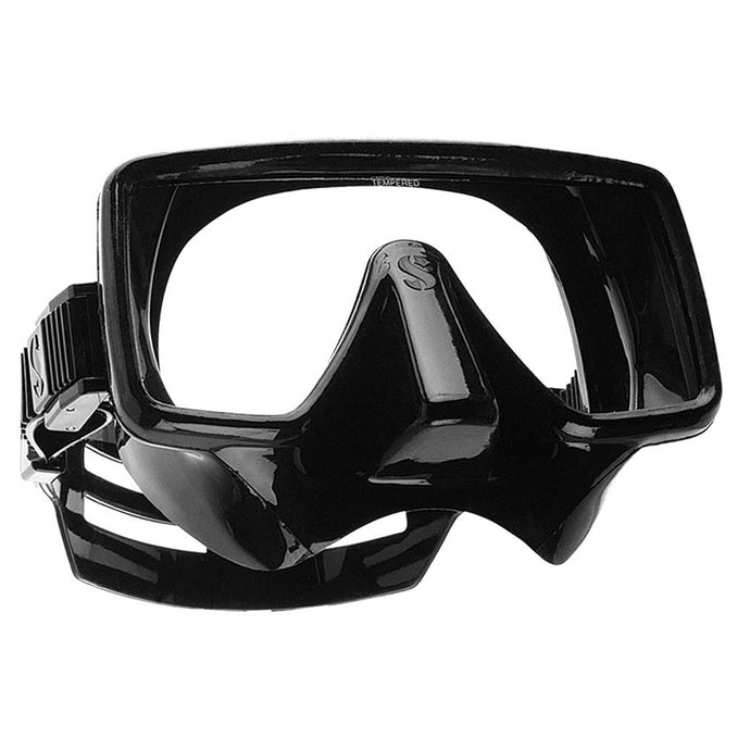 Frameless Mask Black Silicone