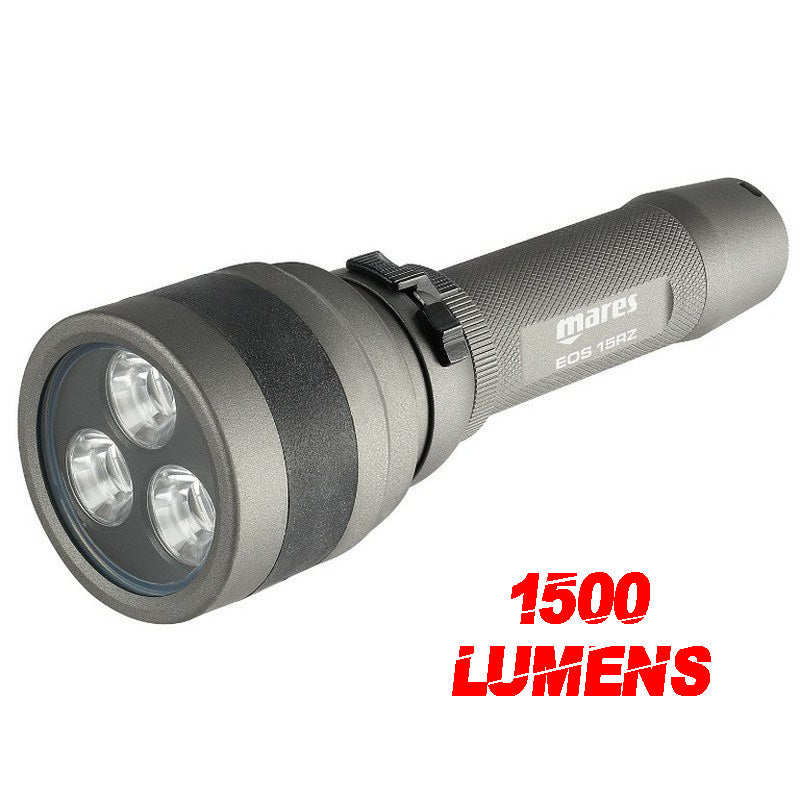 Mares EOS15rz Diving Light - 1500 Lumens