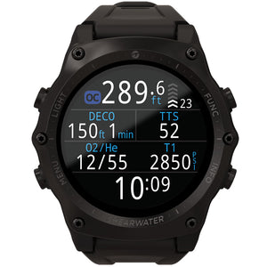 Shearwater Teric Wrist Dive Computer in Black/Black