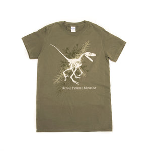 Raptor with Fern Adult T-shirt