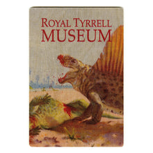 Load image into Gallery viewer, Dimetrodon Vintage Wooden Postcard